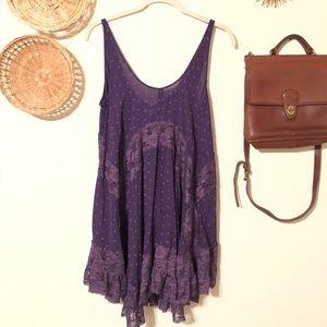 Free People Intimately She Swings Lace Slip Dress